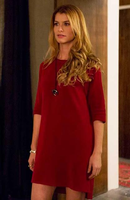 Vestido Vermelho da Diana