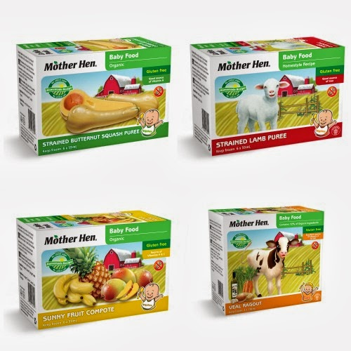 Natural Organic Baby food from Mother Hen