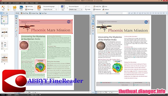 Download ABBYY FineReader 14.0.107.212 Full Cr@ck – Phần mềm chuyển file scan sang văn bản