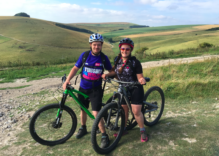 FitBits | Cycling the South Downs Way - Amberley to Devil's Dyke - Tess Agnew