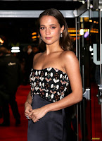 Alicia Vikander - The Danish Girl UK Premiere @ Odeon Leicester Square in London - 12/08/15