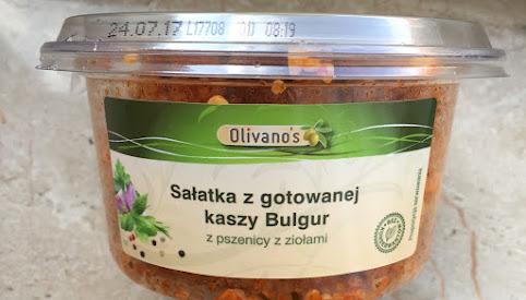 Sałatka bulgur, Olivano