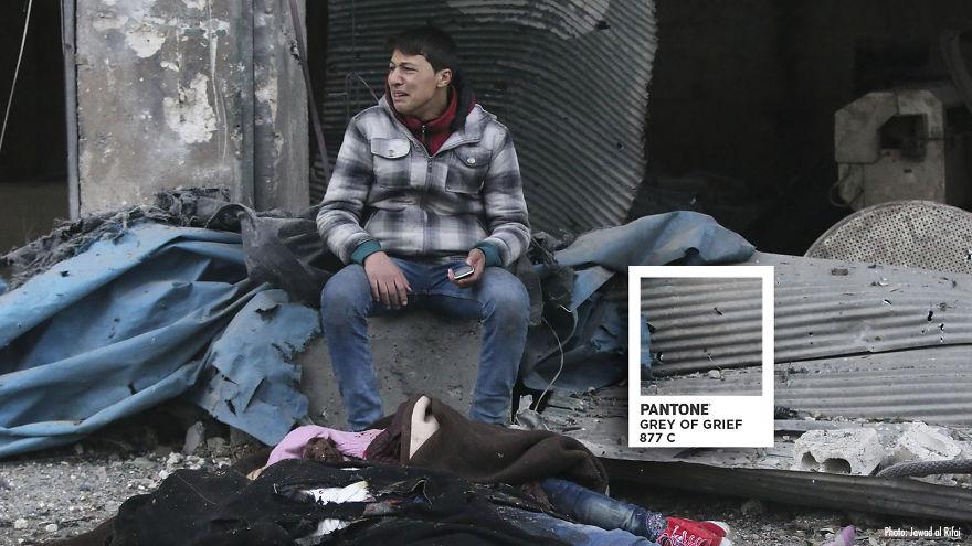 Colores que buscan sensibilizar sobre las tragedias en Alepo | Siria - Fotografía