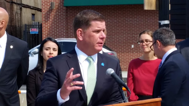 Mayor Walsh in East Boston 2017 - Capital Plan