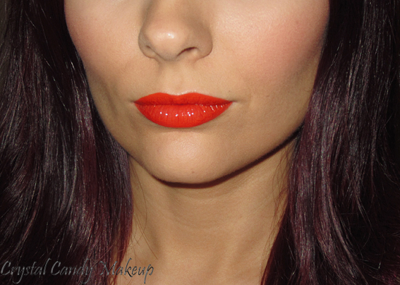 Rouge à lèvres waterproof Aqua Rouge #17 Bright Orange de Make Up For Ever - Review - Swatch