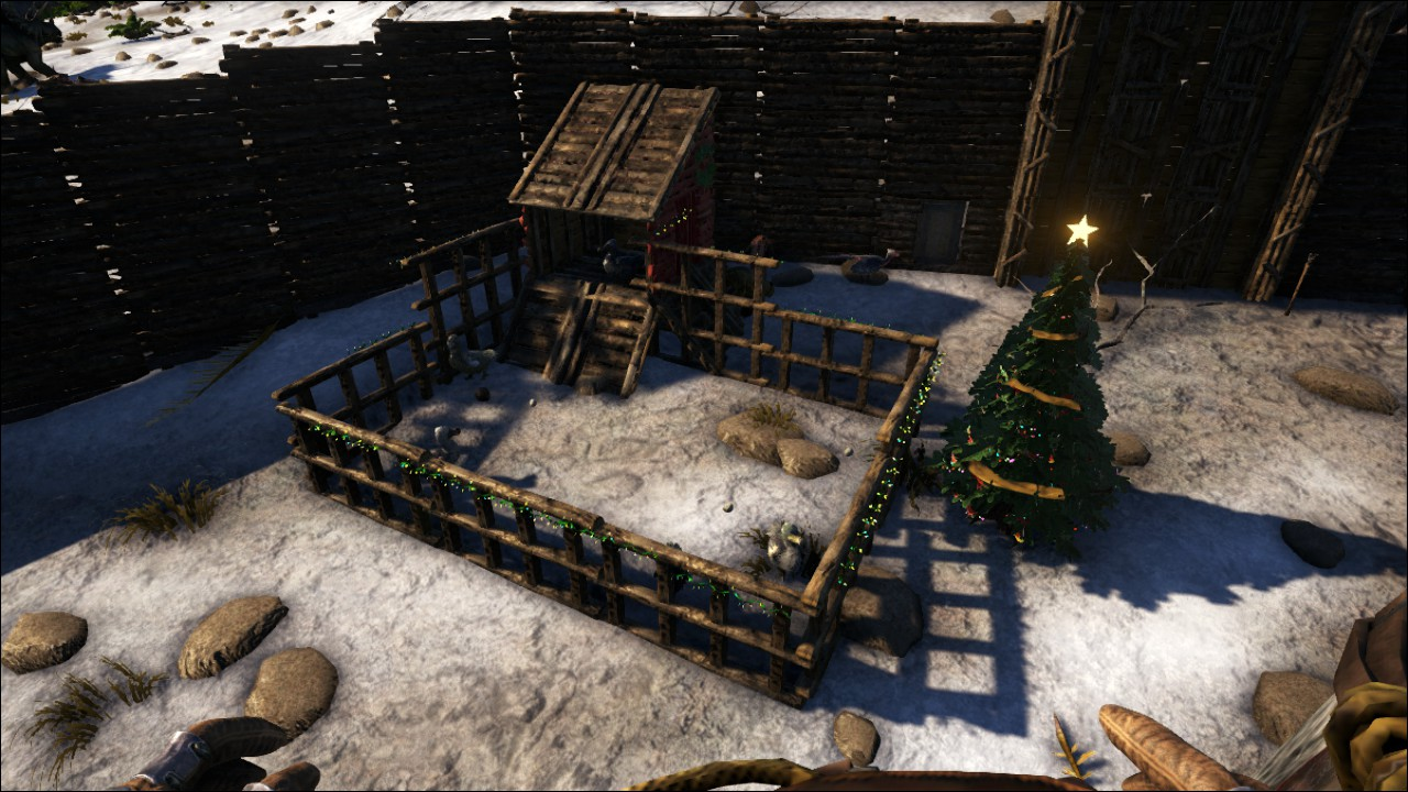 Ark Survival Evolved Christmas Event.Fat Frog S Swamp Gas Gaming Raptor Claus And The Winter
