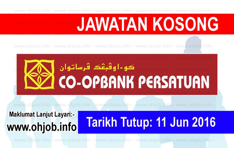 Jawatan Kerja Kosong Koperasi Bank Persatuan Malaysia Berhad logo www.ohjob.info jun 2016