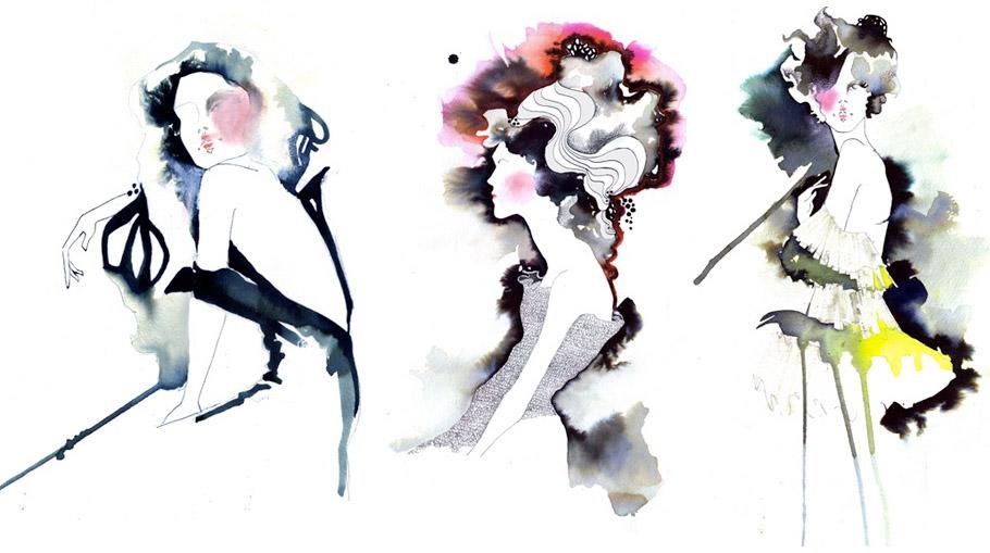 Carla's Fashion Blog !!: Amelie Hegardt's Illustration ...
