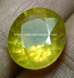 Batu Permata Yellow Saphire - ZP  430