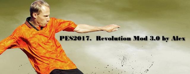 PES 2017 Revolution Mod V3.0 dari Alex
