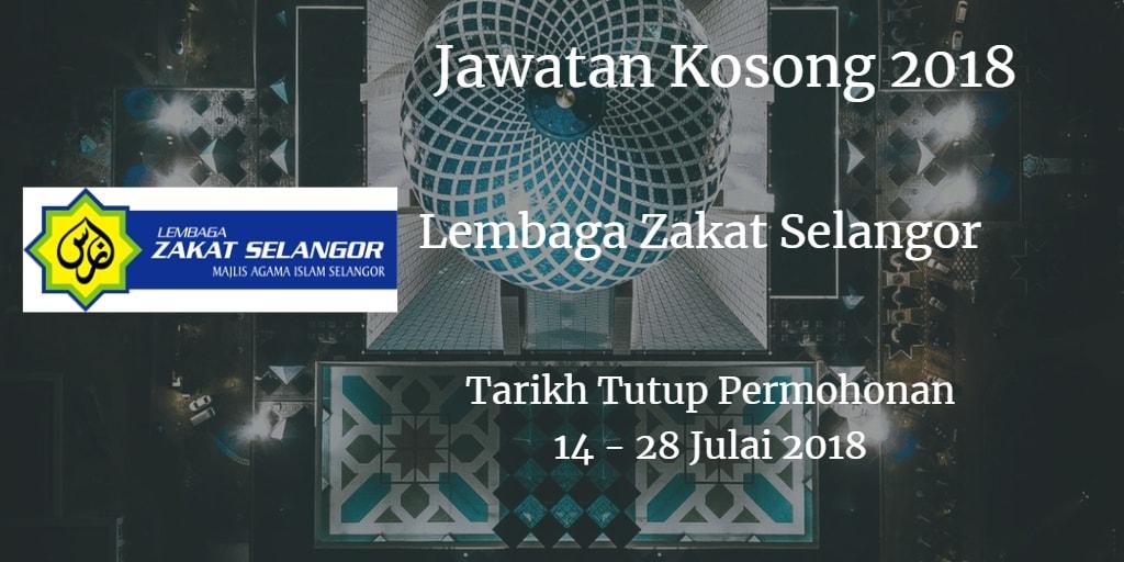 Jawatan Kosong MAIS 14 - 28 Julai 2018