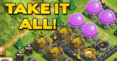 tips main coc pemula , coc , clash of clans , tips trik