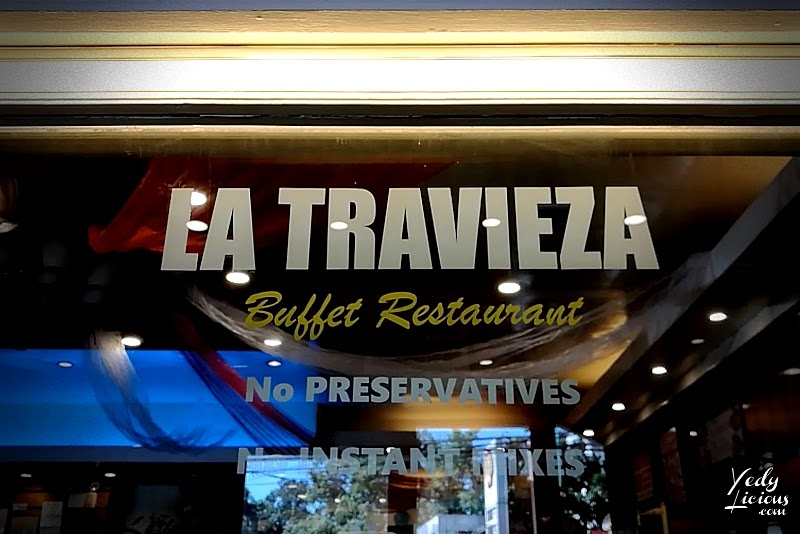 La Travieza Buffet Restaurant Antipolo City Rizal Blog Review and YouTube Video by YedyLicious Manila Food Blog, Affordable and Cheap Eat-All-You-Can Buffet Restaurant in Manila Philippines, Restaurants in Antipolo Rizal, Where To Eat in Antipolo City Rizal, Best Buffet Restaurants in Antipolo City Rizal, Best Seafood Restaurants in Antipolo City Angono Taytay Cainta Rizal, La Travieza Buffet Restaurant Address Contact Number Buffet Rates Promo Discounts Function Rooms Events Place Website Facebook Instagram Twitter