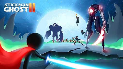 تحميل Stickman Ghost 2: Galaxy Wars مهكرة