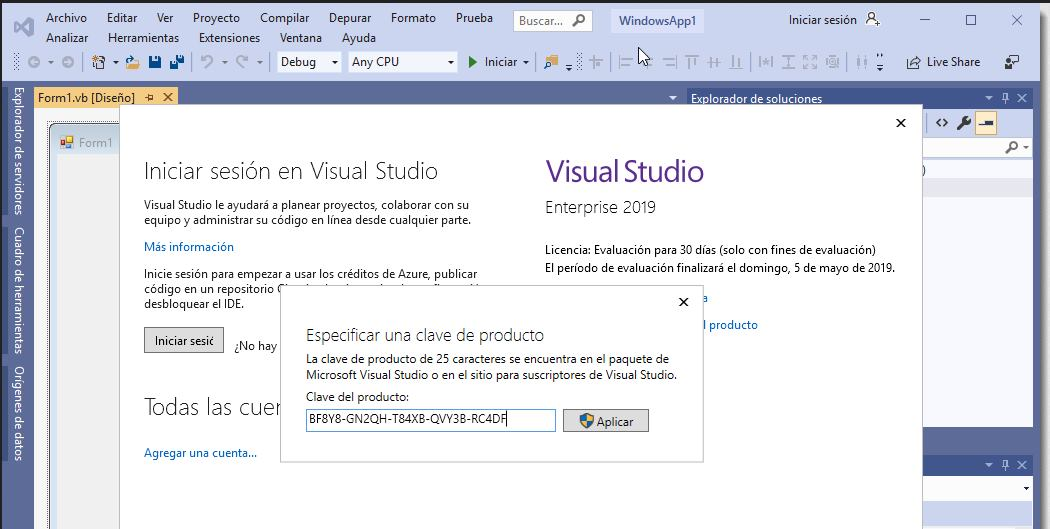 Microsoft Visual Studio 2019 Enterprise Full Español