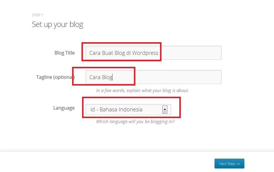 Cara Terbaru Membuat Blog di Wordpress Bagi Pemula