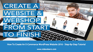 How To Create An E-Commerce WordPress Website - Step-By-Step Tutorial