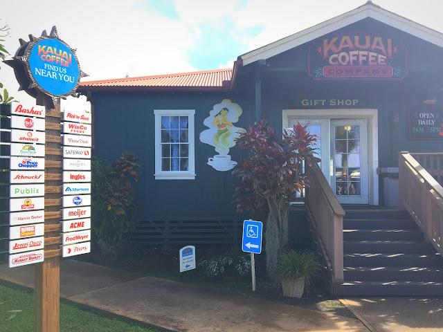 Kauai coffee gift shop
