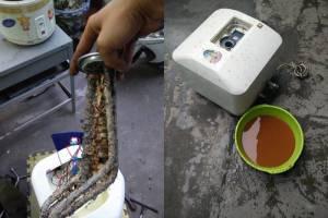 vệ sinh bình nóng lạnh