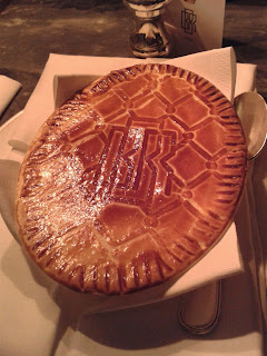 Bob Bob Ricard Chicken, Mushroom and Champagne Pie Review