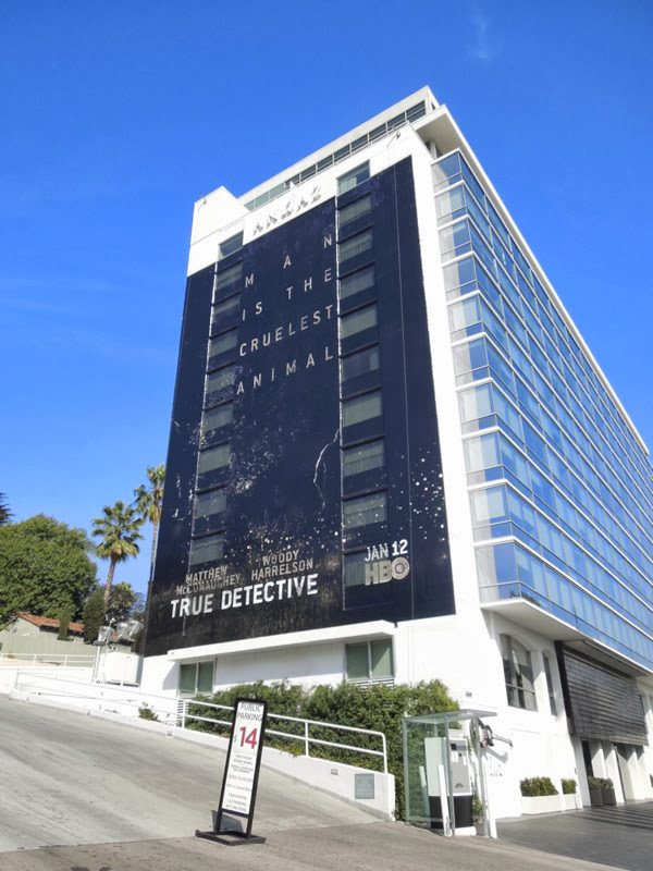 Giant True Detective teaser billboard