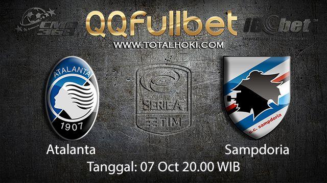 Prediksi Bola Jitu Atalanta vs Sampdoria 07 October 2018 ( Italian Serie A )