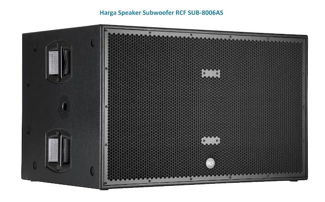 Harga Subwoofer Speaker RCF SUB-8006AS 18 inch