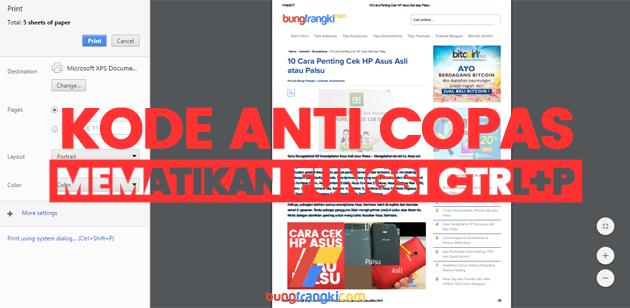 Kode Anti Copas