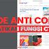 Kode Anti Copas, Cara Agar Blog Tidak Dapat di CTRL+P