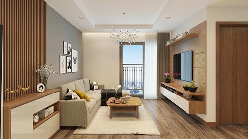 Các căn hộ Hateco Apollo được trang bị đầy đủ nội thất hiện đại