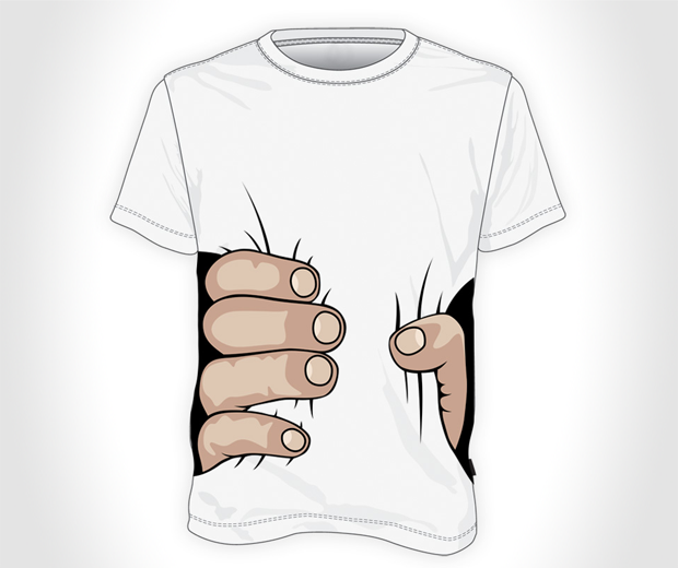 Big Hand Squeeze T Shirt