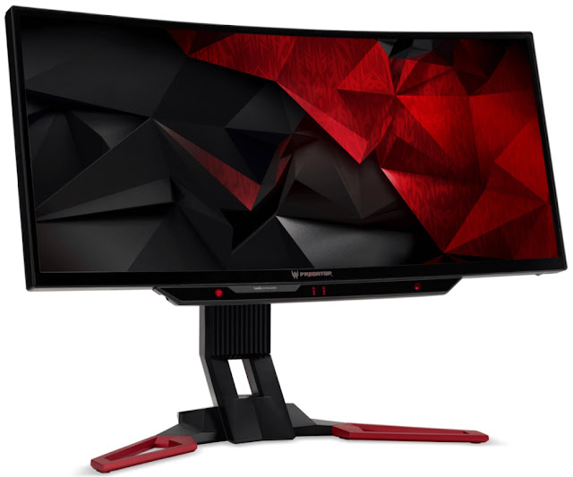 Acer Unveiled Predator Z301CT, XB252Q, and XB272 Curved Gaming Monitors