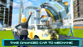Tourist Futuristic Flying Car Apk v1.2 Mod Full Unlocked Terbaru