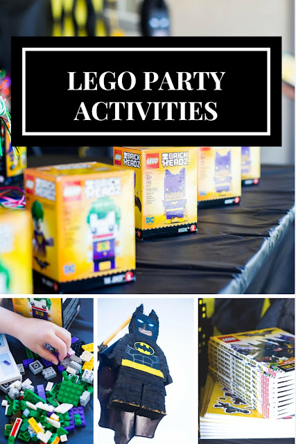 things to do during a lego birthday party
