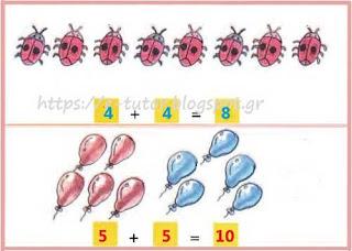 Κεφ. 19 - Oι τακτικοί αριθμοί - Τα διπλά αθροίσματα - Ενότητα 3 - https://e-tutor.blogspot.gr