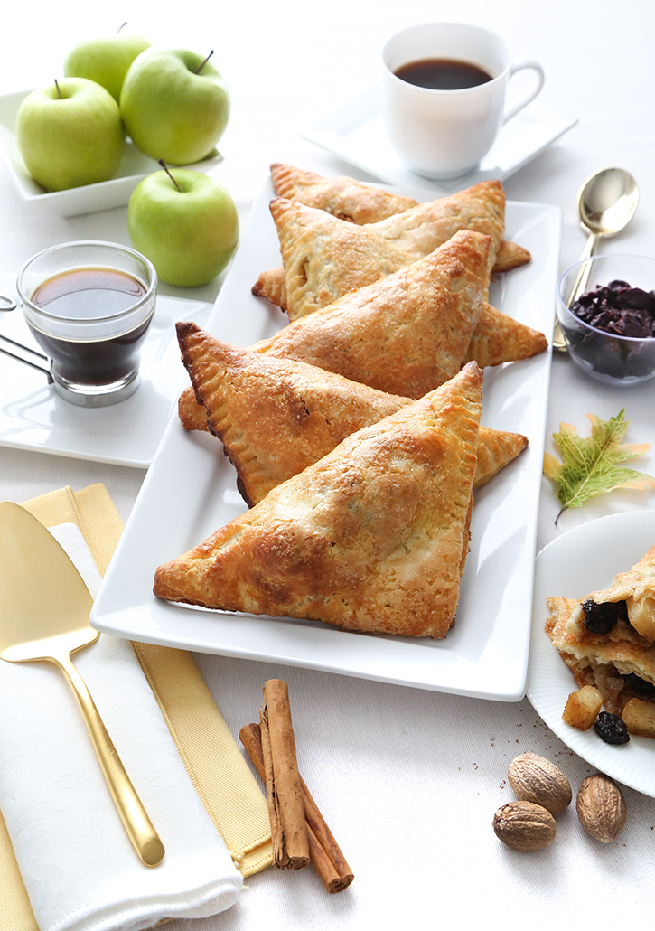 Apple Cherry Turnovers