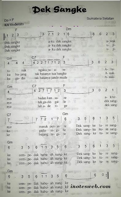 terjemahan, makna , arti lagu dek sangke