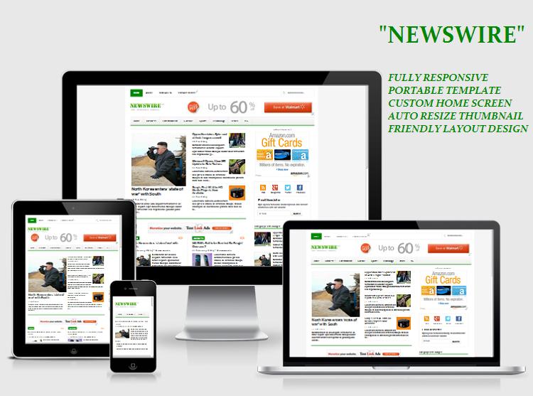 Koleksi Template Blog Keren SEO Friendly Fast Loading Responsive Terbaru Gratis