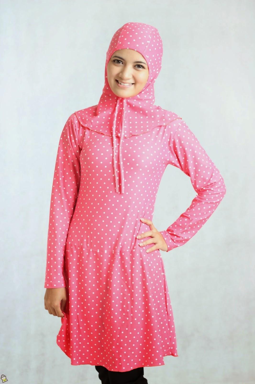 20 Contoh Model Baju Muslim Renang Wanita Terbaik 2015