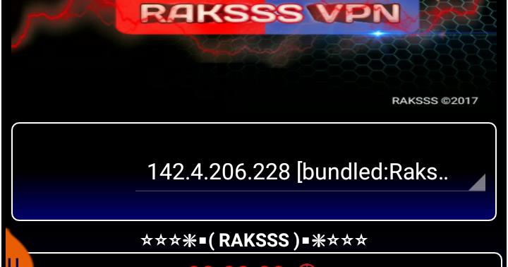 Raksss VPN Version 1 6 [ Free Internet ] - GlobeTm | Blog for Free