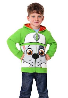 Paw Patrol costume hoodie