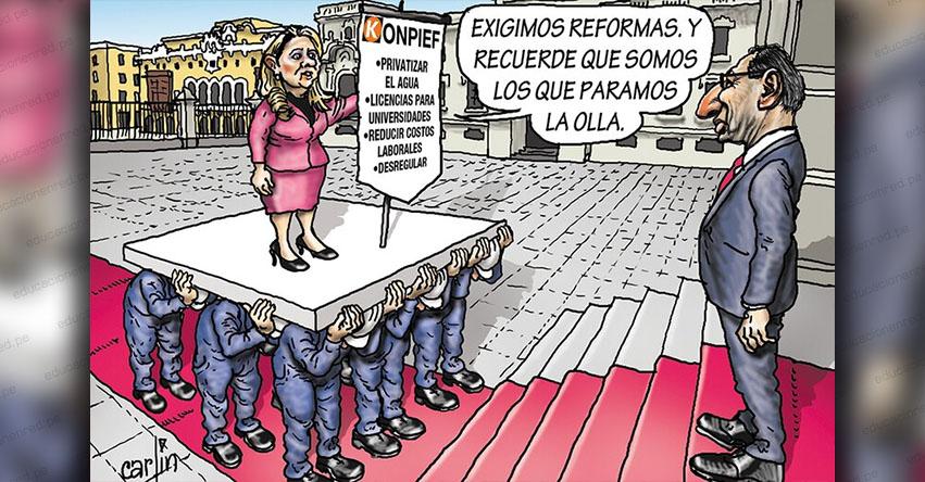 Carlincaturas Domingo 30 Junio 2019 - La República
