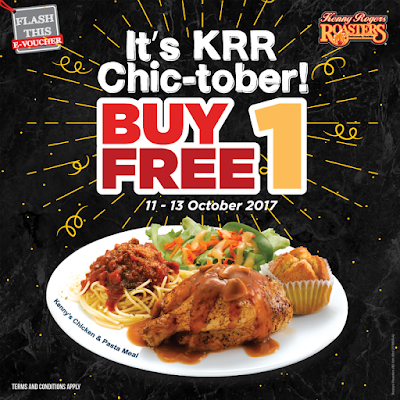 Kenny Rogers ROASTERS Malaysia Buy 1 Free 1 E-Voucher