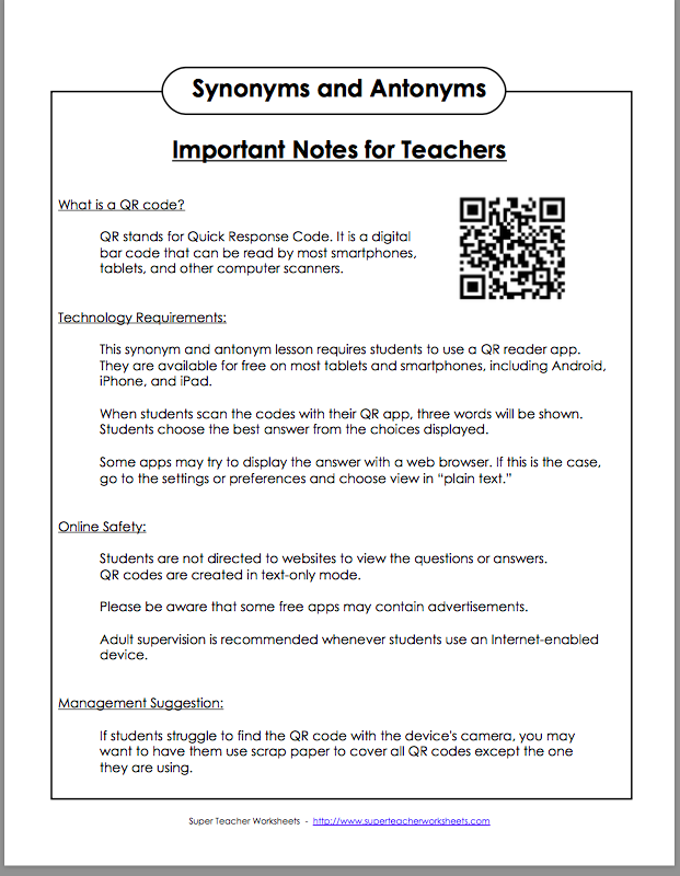 Super Teacher Worksheets 4Th Grade Worksheets for all | Download ...