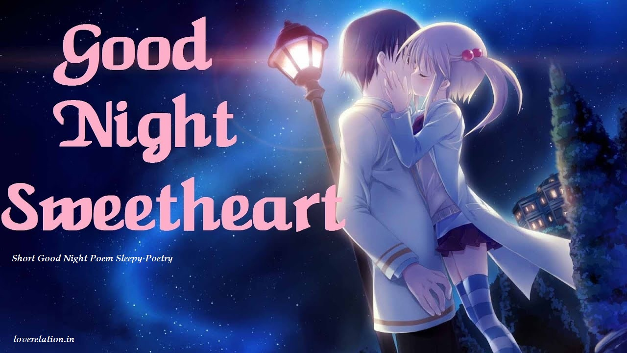 short goodnight love poems sleepy poem poetry