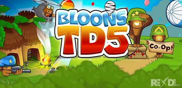 تحميل  Bloons TD مهكرة مجانا كامل اخرا صدار