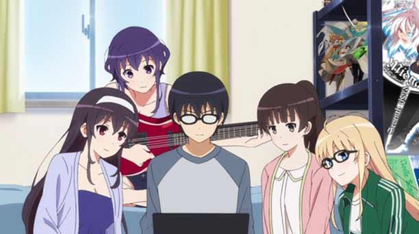 Anime Mirip Nisekoi Terbaik - Saekano