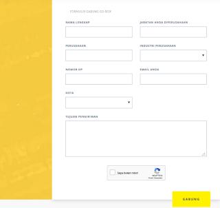 Formulir  Daftar Go-Box Untuk Mengembangkan Bisnis Anda