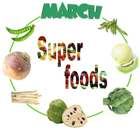 SuperFoods of March Month [Editor's Pick]