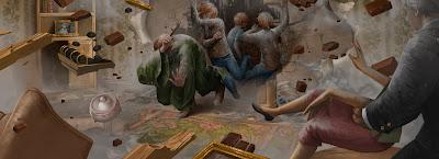 Harry Potter e il Calice di Fuoco: L'arrivo dei Weasley